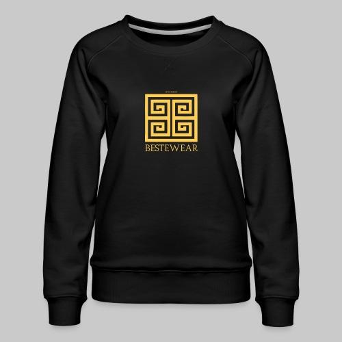 #Bestewear - Golden Snake - Frauen Premium Pullover