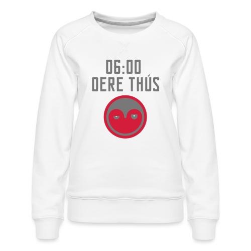 6 oere tus - wit - Vrouwen premium sweater