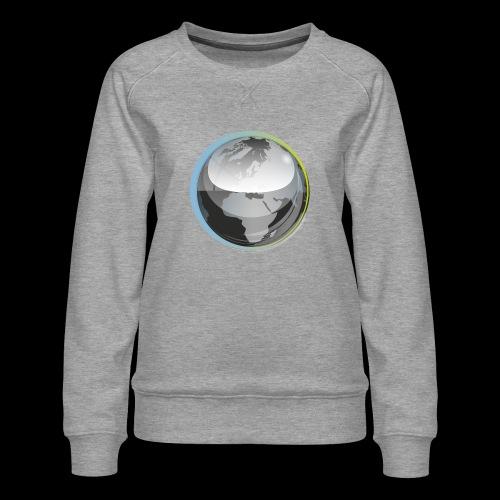 beeldmerk puretrance transparant png - Women's Premium Sweatshirt
