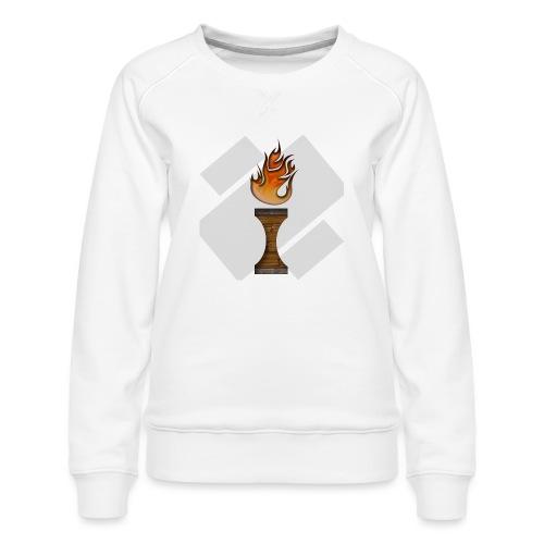 La Flamme de La Ilteam ! - Sweat ras-du-cou Premium Femme