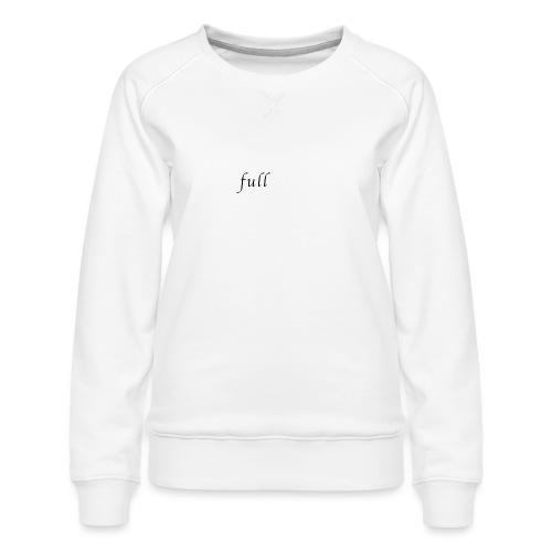full p one - Dame premium sweatshirt