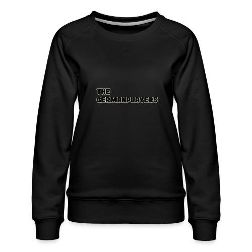 TITLE ONLY 4 FANS - Frauen Premium Pullover