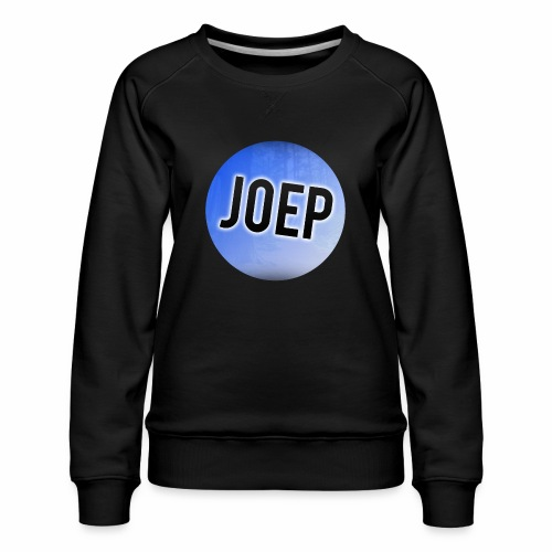 vrouwen sweater met logo van joep - Vrouwen premium sweater
