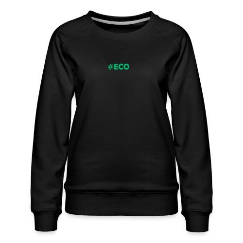 #ECO Blue-Green - Frauen Premium Pullover