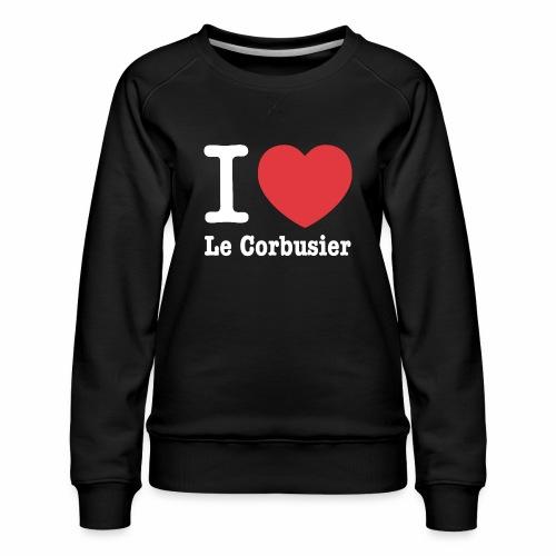 Love Le Corbusier - Sudadera premium para mujer