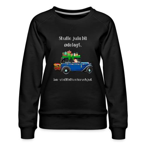 Morsomt julemotiv - Premium-genser for kvinner