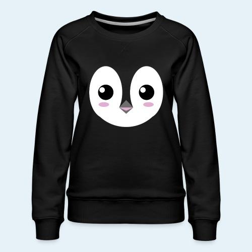 Pingüino bebé (Cachorros) - Sudadera premium para mujer
