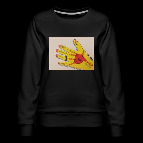 9D8D600F D04D 4BA7 B0EE 60442C72919B - Dame premium sweatshirt