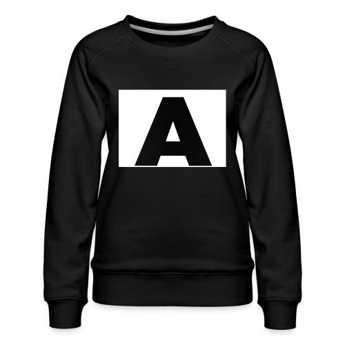 A-685FC343 4709 4F14 B1B0 D5C988344C3B - Dame premium sweatshirt