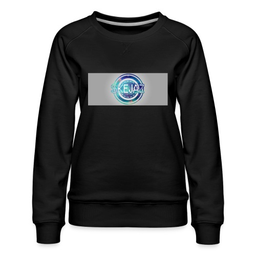 LOGO WITH BACKGROUND - Women's Premium Sweatshirt