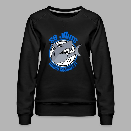 SB JAWS - Naisten premium-collegepaita