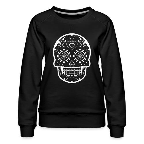 Schädel - Frauen Premium Pullover
