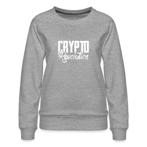 Crypto Revolution - Women's Premium Sweatshirt