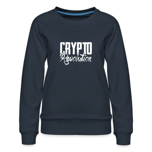 Crypto Revolution - Women's Premium Sweatshirt