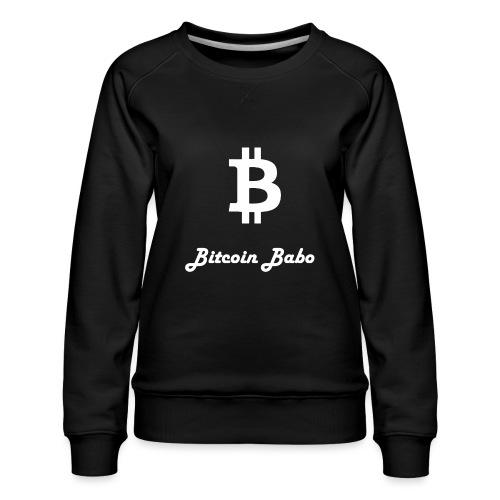 Bitcoin Babo - Frauen Premium Pullover