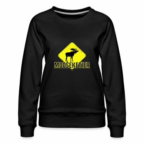 Moosketier - Vrouwen premium sweater