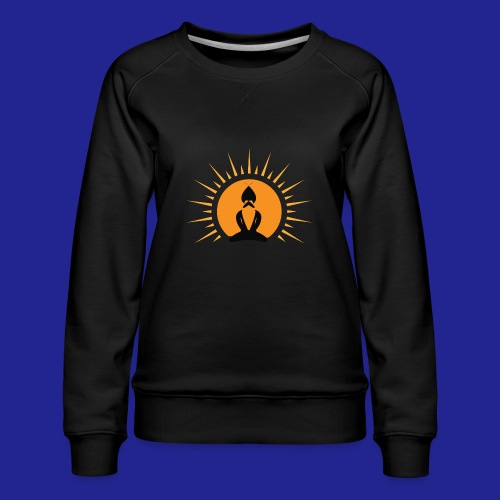 Guramylyfe logo no text black - Women's Premium Sweatshirt