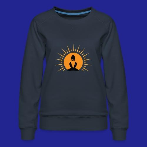 Guramylife logo black - Women's Premium Sweatshirt