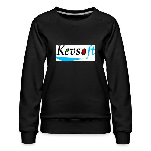 Kevsoft - Women's Premium Sweatshirt