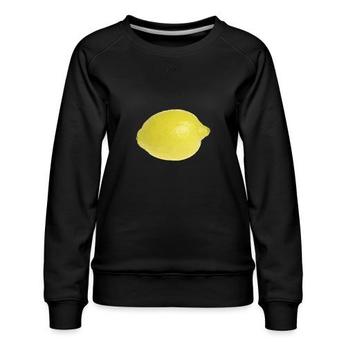 Zitrone - Frauen Premium Pullover