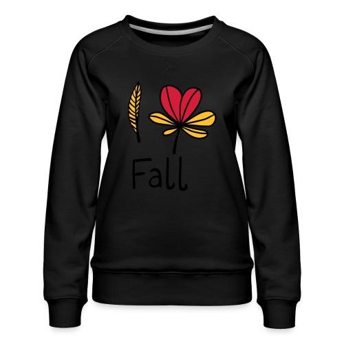 Fall in love - Frauen Premium Pullover