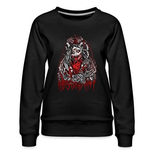 Murderous Beauty Absurd Art - Frauen Premium Pullover