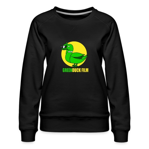 Greenduck Film In the Sun Logo - Dame premium sweatshirt