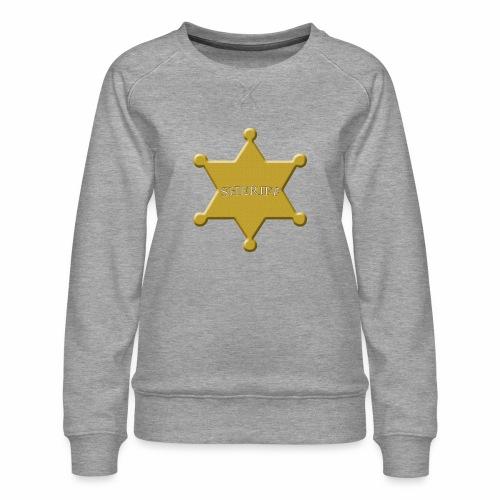 scheriff - Frauen Premium Pullover