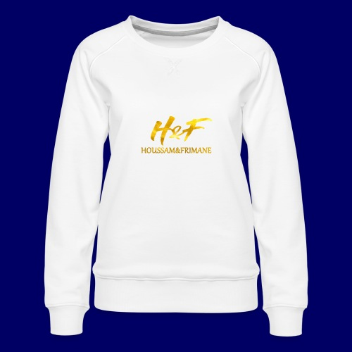 h f gold2 - Felpa premium da donna