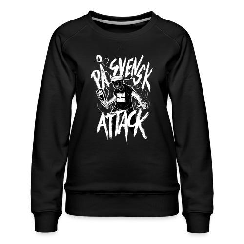 På Svenska Tack - Women's Premium Sweatshirt