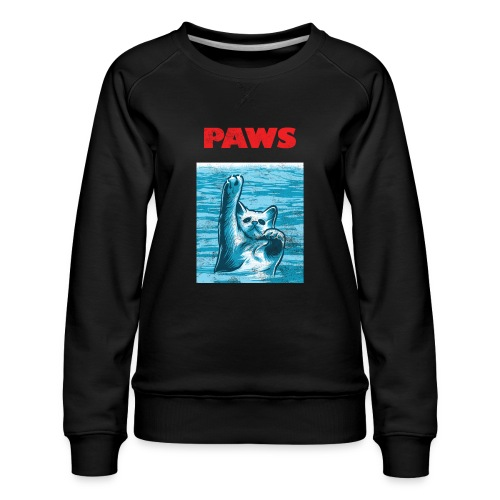 Katzen Paws Horror Film Parodie - Frauen Premium Pullover