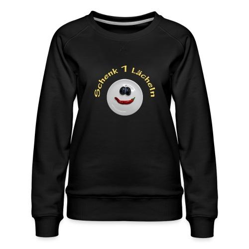 TIAN GREEN - Schenk 1 Lächeln - Frauen Premium Pullover
