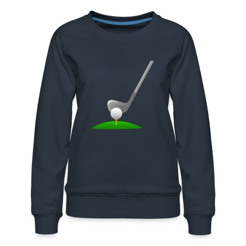 Golf Ball PNG - Sudadera premium para mujer