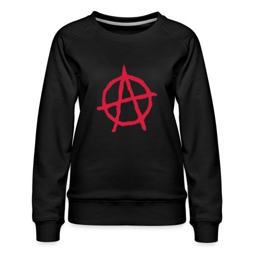 Anarchy Symbol - Women's Premium Sweatshirt