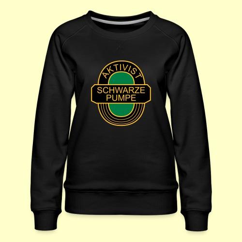 BSG Aktivist Schwarze Pumpe - Frauen Premium Pullover