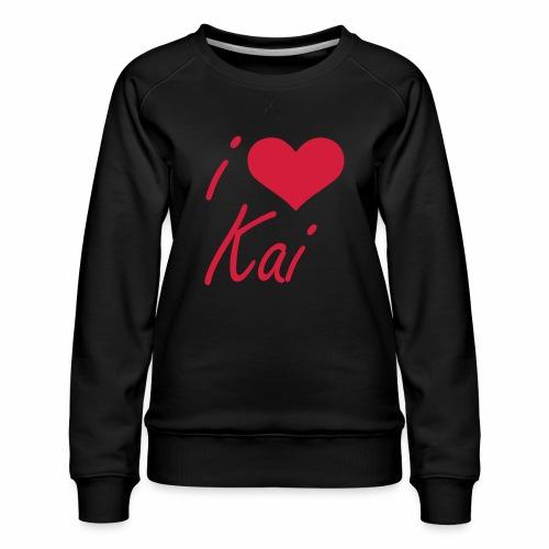I love Kai - Frauen Premium Pullover