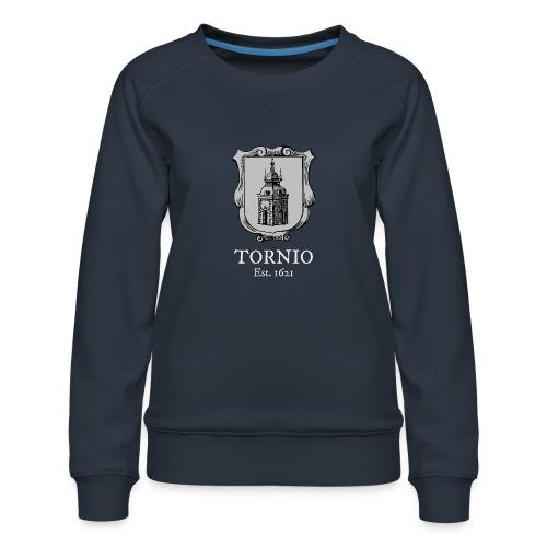 Tornio est 1621 - Naisten premium-collegepaita
