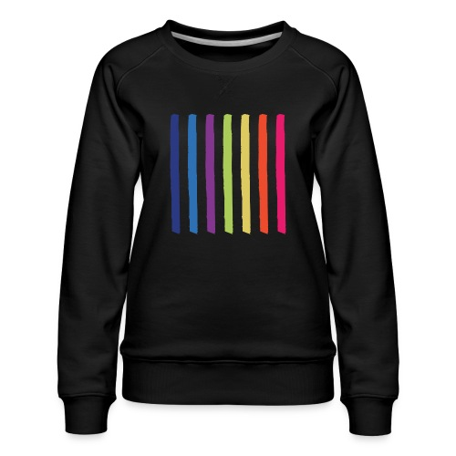 Linjer - Dame premium sweatshirt