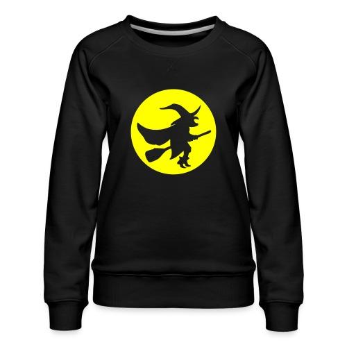 hexe_1farbig - Frauen Premium Pullover