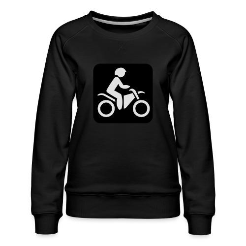 motorcycle - Naisten premium-collegepaita