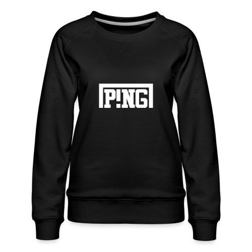 ping2 - Vrouwen premium sweater