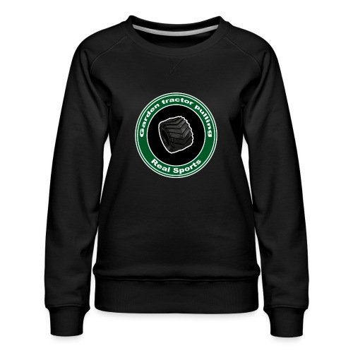 Real Tractor Pulling - Dame premium sweatshirt