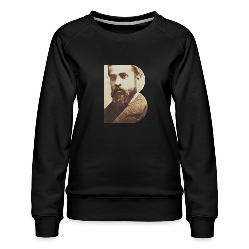 BT_GAUDI_ILLUSTRATOR - Women's Premium Sweatshirt