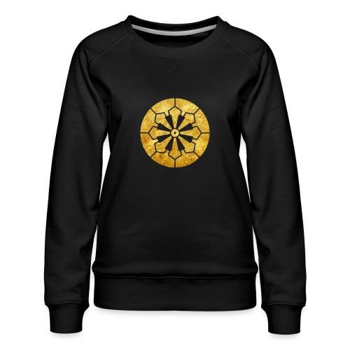 Sanja Matsuri Komagata mon gold - Women's Premium Sweatshirt