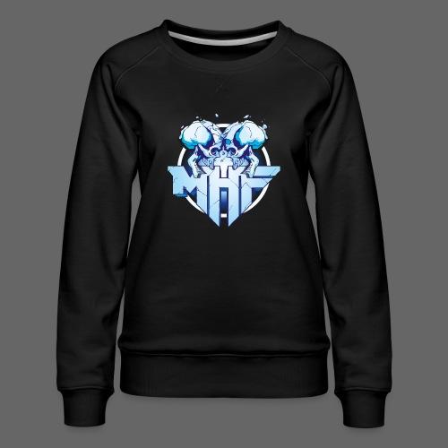 MHF New Logo - Women's Premium Sweatshirt