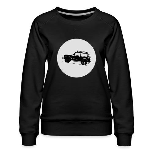 Lada Niva Kreis - Frauen Premium Pullover
