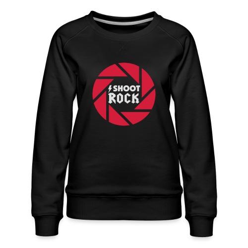 I shoot Rock (white) - Frauen Premium Pullover
