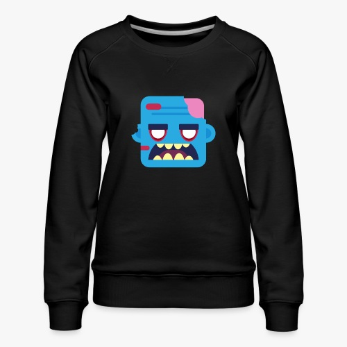 Mini Monsters - Zombob - Dame premium sweatshirt