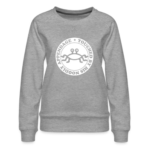 Touched by His Noodly Appendage - Women's Premium Sweatshirt