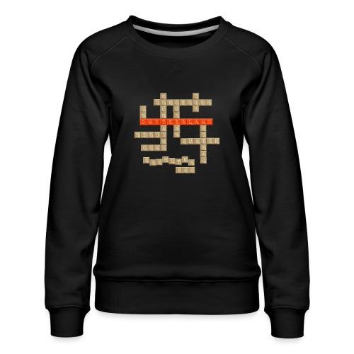 Scrabble - Switzerland - Frauen Premium Pullover